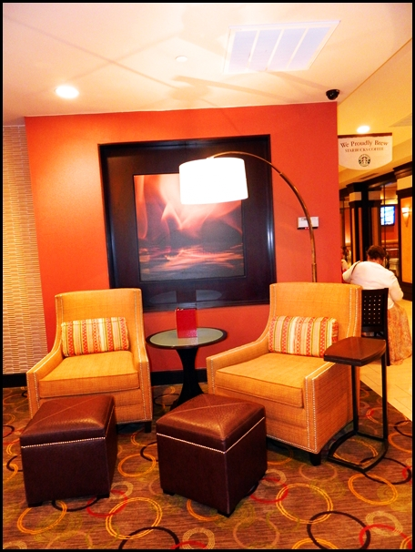My First Impression As I Walked Into The Providence Marriott Downtown Hotel  Was How Beautiful Their Lobby Was. I Loved The Orange U0026 Brown Earth Tones,  ... Part 87
