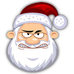 Angry-SantaClaus-icon