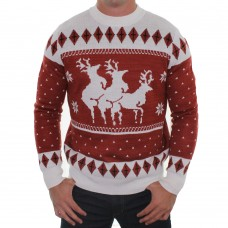 reindeer_menage_a_trois_ugly_christmas_sweater