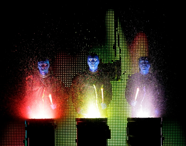 Blue Man Group Show 4 - LR