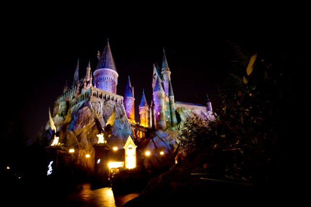 Hogwarts at Night 3 - LR