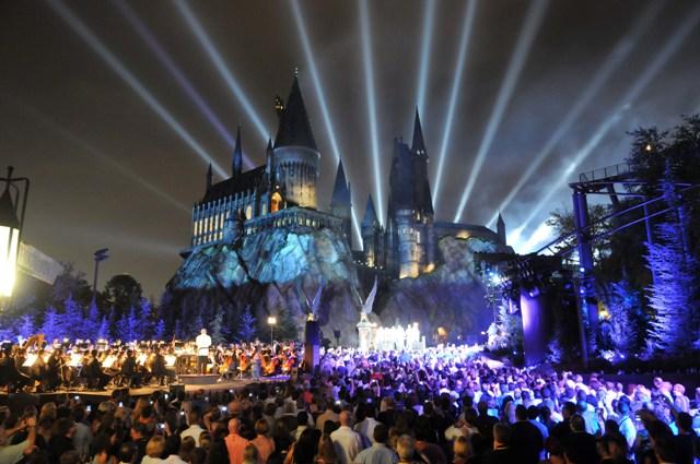 Hogwarts at Night LR