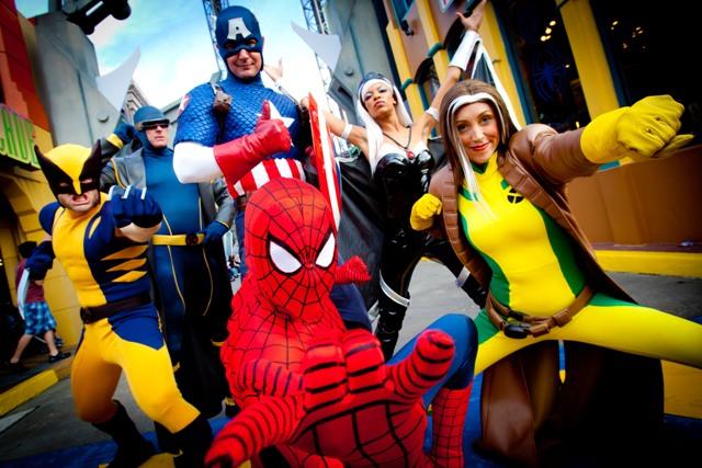 Marvel Super Hero Island 2 - LR