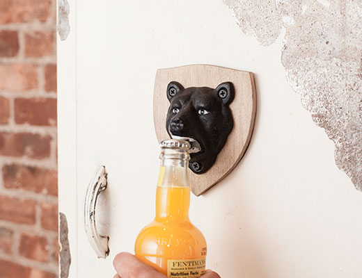 Bottle Opener Magnetic Bear