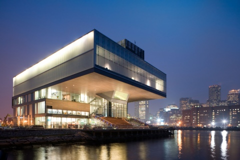 The Institute of Contemporary Art, Boston Diller Scofidio + Renfro Architects