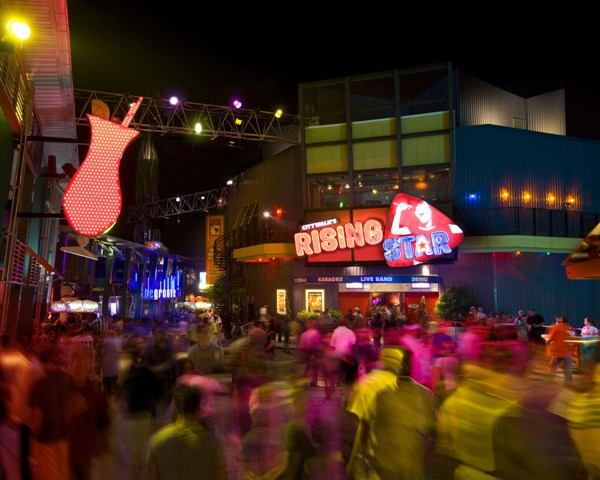 An eclectic collection of themed restaurants, nightclubs, specialty shops and a 20-screen movie theater, Universal CityWalk is OrlandoÕs hottest spot for entertainment, boasting the biggest names in live music, dining, dancing, movies and more.