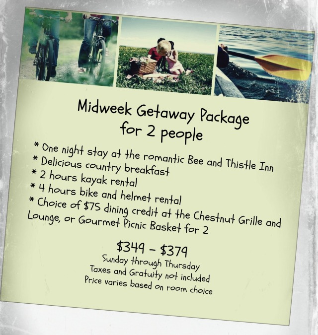 Midweek Getaway Package