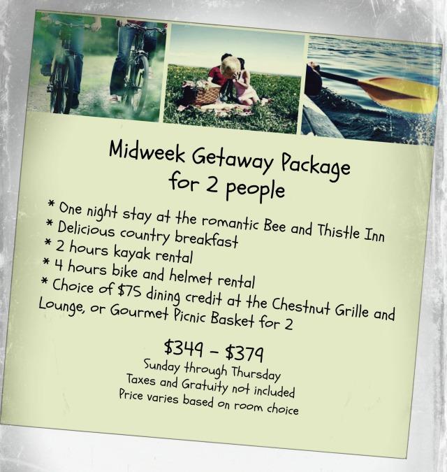 Midweek Getaway Package